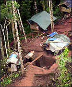 Yahoo.com photo grab shows an MILF satellite camp, one of the many camps taken by the military.