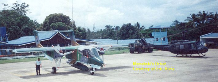 The OV-10 Bronco is the currently the PAF's premiere bomber.