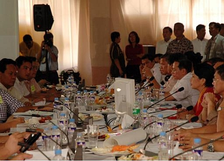 President Arroyo usually brings with her the entire Cabinet
