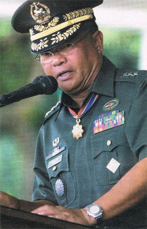 Lieutenant General Jacinto Ligot. Photo from www.army.mil.ph