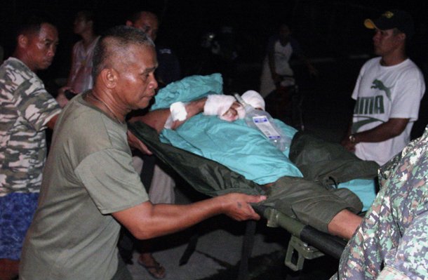 Immediate medical response is badly needed in the frontlines of the war in Mindanao.