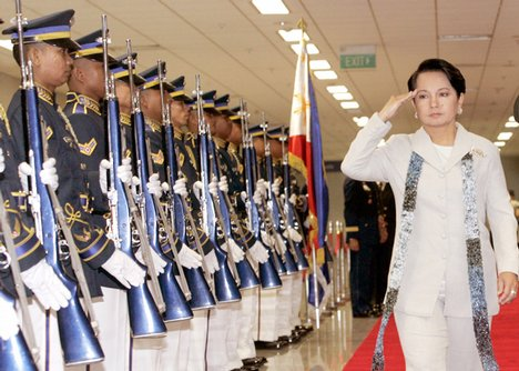 Former Philippine president Gloria Arroyo was said to have enjoyed strong support from her generals. Now, the country will find out to what extent.
