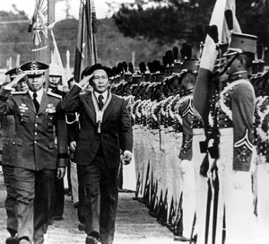 Marcos during the height of his rule as a dictator.