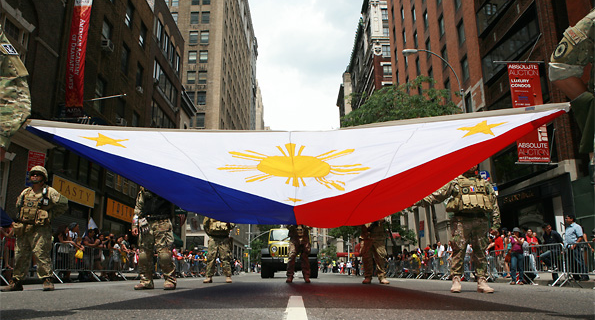 Filipinos all over the world commemorate the 12th of June as well.