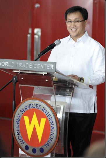 MMDA Chairman Francis Tolentino.