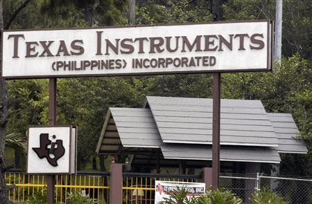 The Texas Instruments Plant in the Philippines. Photo taken from Reuters news website.